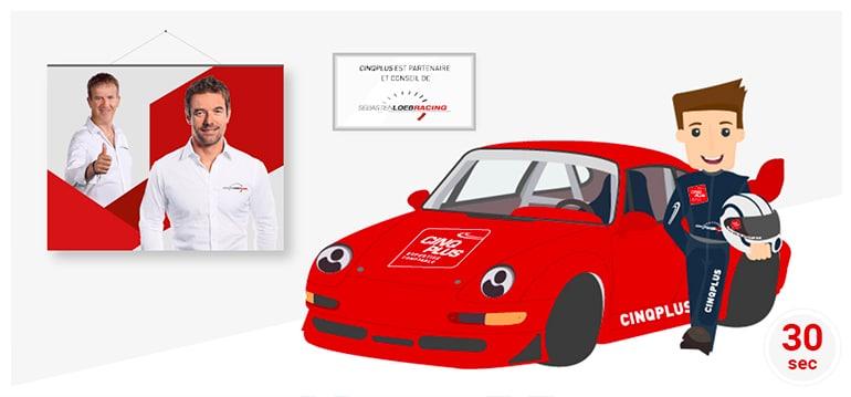 Partenaire et conseil de Sébastien Loeb Racing - Article CINQPLUS