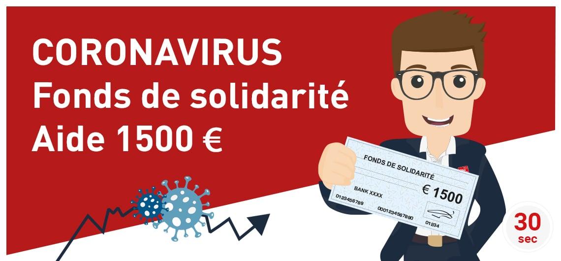 CINQPLUS CORONAVIRUS votre aide 1500€ fonds de soutien