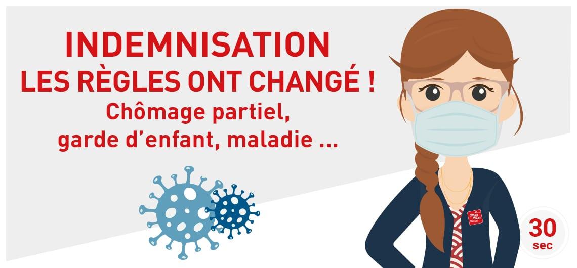 CINQPLUS_Article_2020 Coronavirus_indemnisation les règles ont changé
