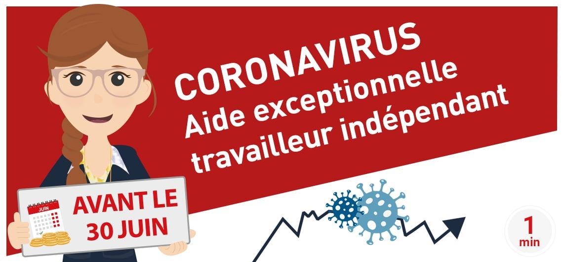 CORONAVIRUS travailleur indépendant comment bénéficier l'aide exceptionnelle CPSTI