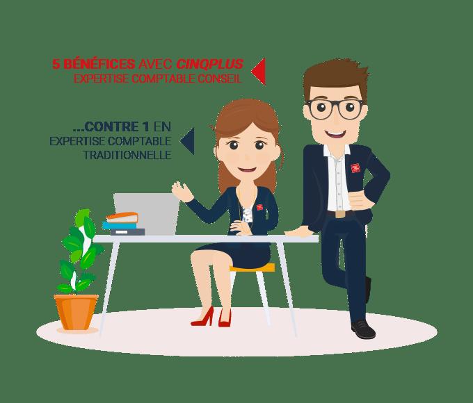 Choisir un expert comptable conseil CINQPLUS qui vous aide à réussir