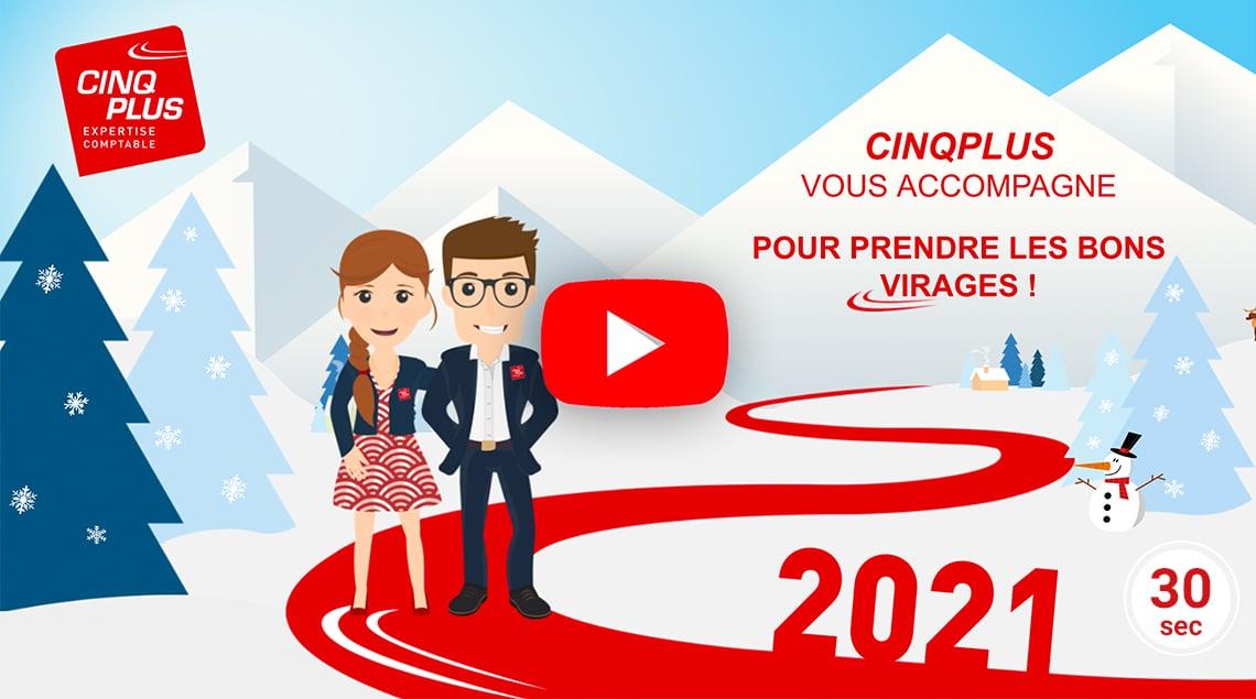 Article CINQPLUS : Bonne année 2021 !